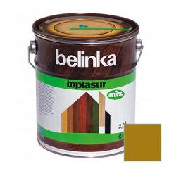 Декоративное покрытие Belinka Toplasur с воском №27 олива 2,5 л