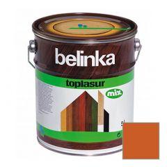 Декоративное покрытие Belinka Toplasur с воском №23 махагон 5 л