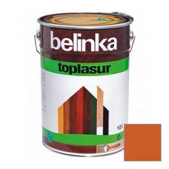 Декоративное покрытие Belinka Toplasur с воском №23 махагон 10 л