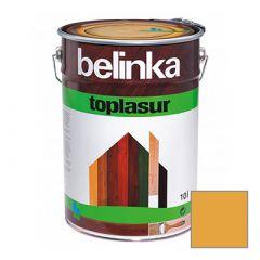 Декоративное покрытие Belinka Toplasur с воском №16 орех 10 л