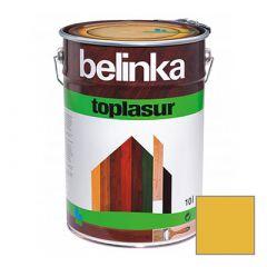Декоративное покрытие Belinka Toplasur с воском №15 дуб 10 л
