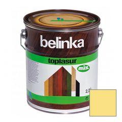 Декоративное покрытие Belinka Toplasur с воском №13 сосна 2,5 л