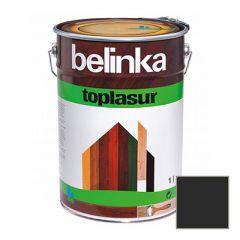 Декоративное покрытие Belinka Toplasur с воском №22 эбеново дерево 1 л
