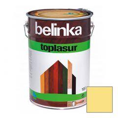 Декоративное покрытие Belinka Toplasur с воском №13 сосна 10 л
