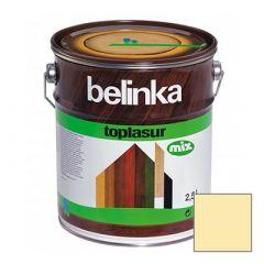 Декоративное покрытие Belinka Toplasur с воском №12 бесцветное 2,5 л