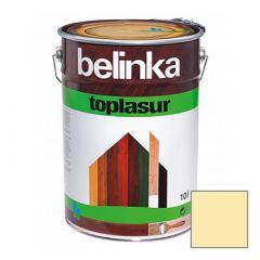 Декоративное покрытие Belinka Toplasur с воском №12 бесцветное 10 л