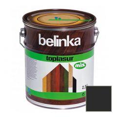 Декоративное покрытие Belinka Toplasur с воском №22 эбеново дерево 2,5 л