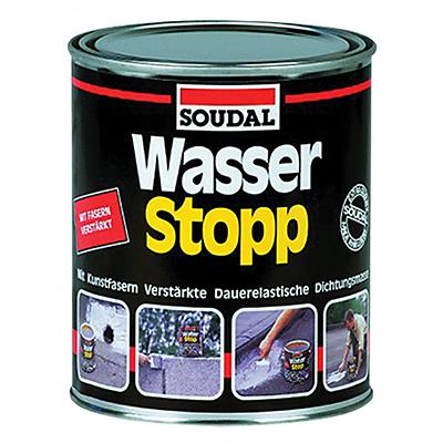 Герметик Soudal кровельный Wasser Stop 4 кг