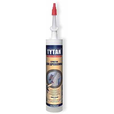 Герметик Tytan акриловый для древесины махагон 310 мл