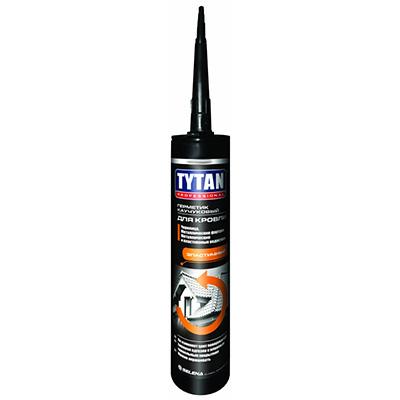 Герметик Tytan кровельный битумный черный 310 мл