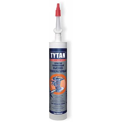 Герметик силиконовый высокотемпературный Tytan красный 310мл