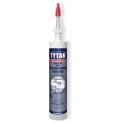 Герметик акриловый Tytan Professional для вентиляции серый 310 мл