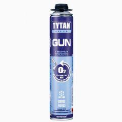 Пена монтажная Tytan Professional Gun O2 зимняя профессиональная 750 мл