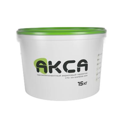 Герметик акриловый АКСА белый 15 кг