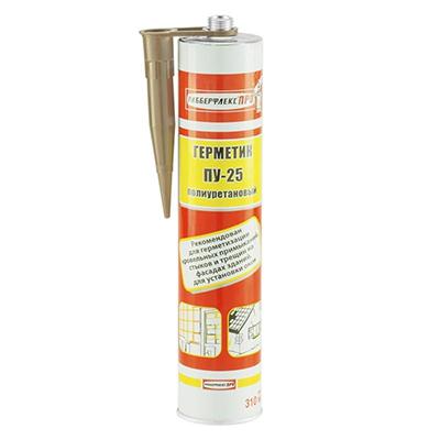 Герметик полиуретановый Рабберфлеккс ПРО ПУ 20 Серый 600 мл