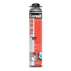 Пена монтажная полиуретановая Ceresit TS 62 универсальная всесезонная 800 г