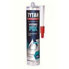 Клей монтажный каучуковый Tytan Professional hydro fix прозрачный 310 мл