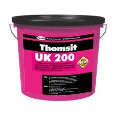 Клей Thomsit UK 200 для текстильных и ПВХ покрытий серый 14 кг