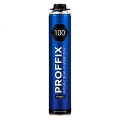 Клей-пена Profflex Proffix 100 полиуретановый универсальный 850 мл