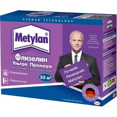 Клей для флизелиновых обоев Metylan Флизелин ультра Премиум 250 г