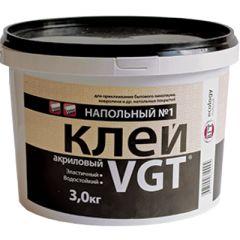 Клей акриловый VGT Эконом напольный 3 кг