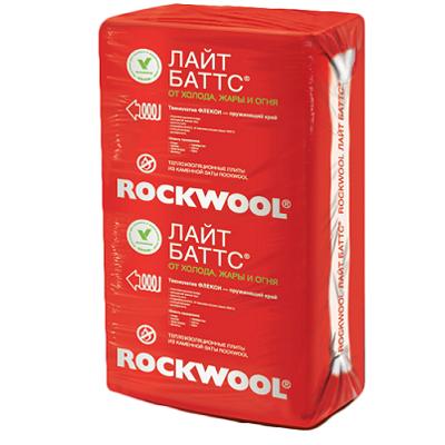 Базальтовая вата Rockwool Лайт Баттс 1000х600х50 мм 10 шт