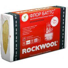 Базальтовая вата Rockwool Флор Баттс 1000х600х25 мм 8 шт
