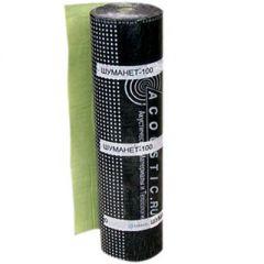 Стеклохолст рулонный звукоизоляционный Шуманет-100 15000х1000х3 мм
