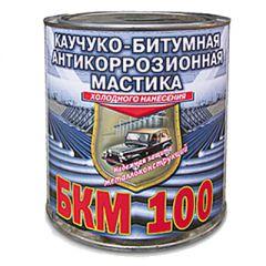 Мастика каучуко-битумная Rogneda БКМ-100 антикоррозионная 2 л