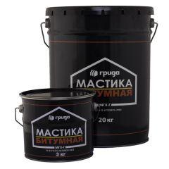 Мастика битумная Грида МГХ-Г 20 кг
